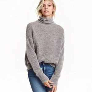 H&M wool mohair sweater
